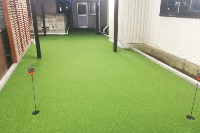 武蔵野グリーンゴルフ パター練習場