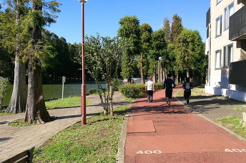 別所沼公園 ランニング・散歩