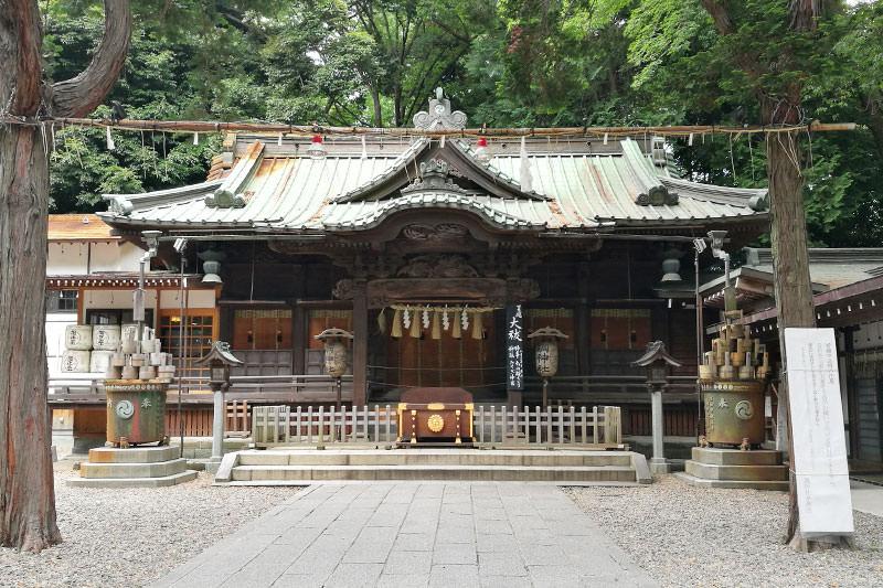 浦和 調神社