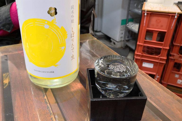 角打ちわかさや 日本酒