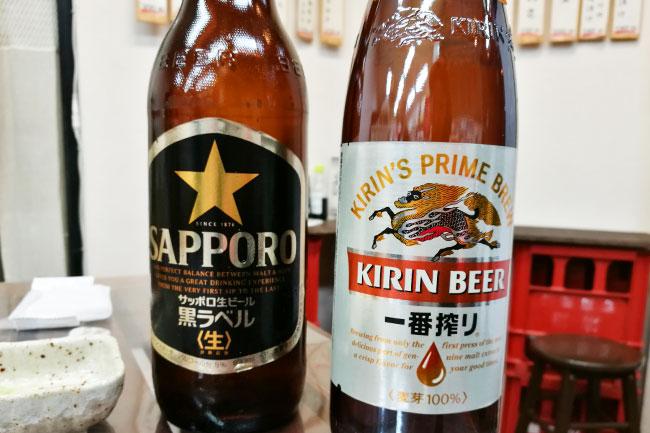 浦和 角打ちわかさや ビール大瓶