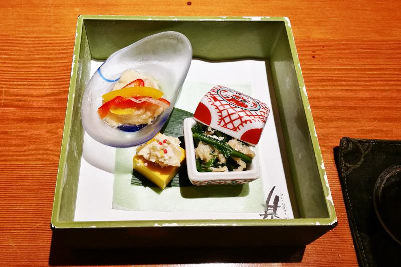 魚菜 基(もとし) 先付