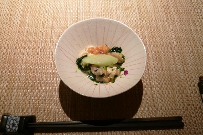 魚菜 基 季節を感じるミニ会席 先付