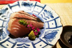 魚菜 基 季節を感じるミニ会席 旬付