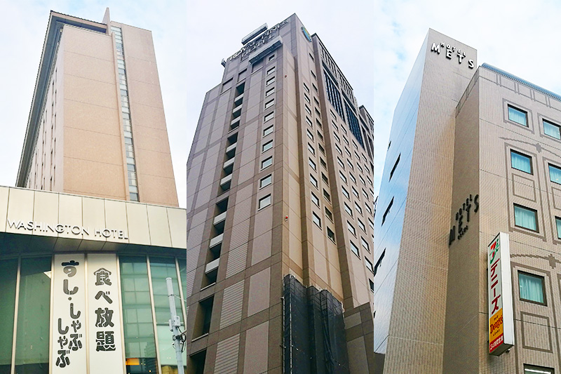 浦和のホテル