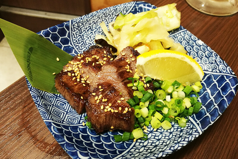 浦和「大衆酒場 べこたん」 熟成炙り牛タン