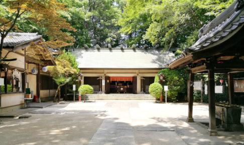 本太氷川神社 本殿