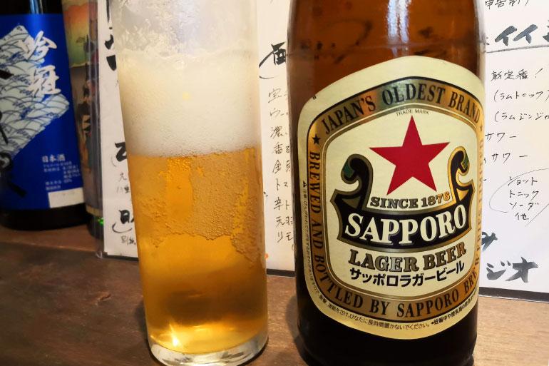 浦和 立ち呑みビアジオ 瓶ビール