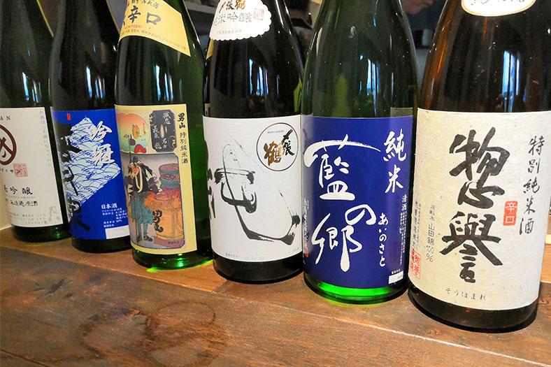 浦和 立ち呑みビアジオ 日本酒