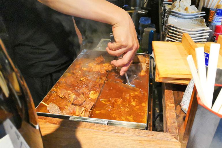 浦和 立ち呑みビアジオ みそ串煮
