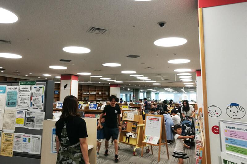 さいたま市立中央図書館 児童コーナー