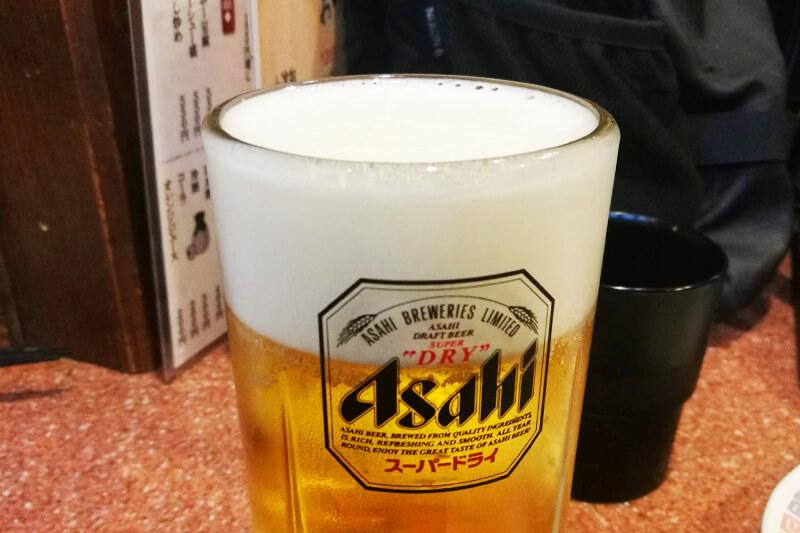 浦和 ラーメン王 生ビール
