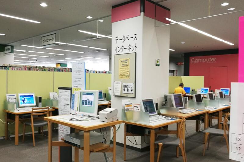 さいたま市立中央図書館 無線LANエリア