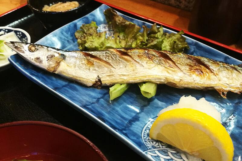 浦和 お多幸(おたこう) 焼き魚定食
