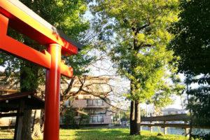 三角稲荷神社