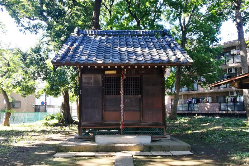 浦和区本太 三角稲荷神社 社