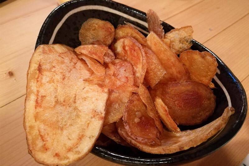 浦和 大衆酒場BEETLE(ビートル)の自家製ポテトチップス