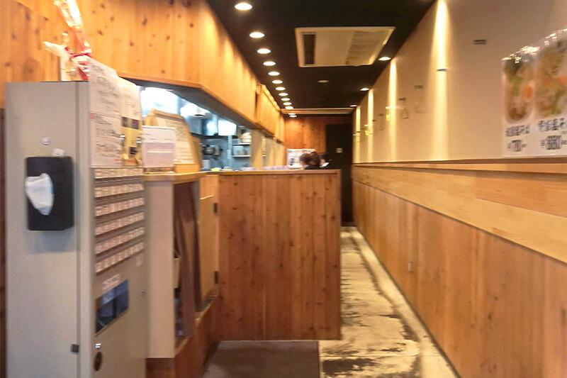 北浦和 ラーメン ふうび 店内