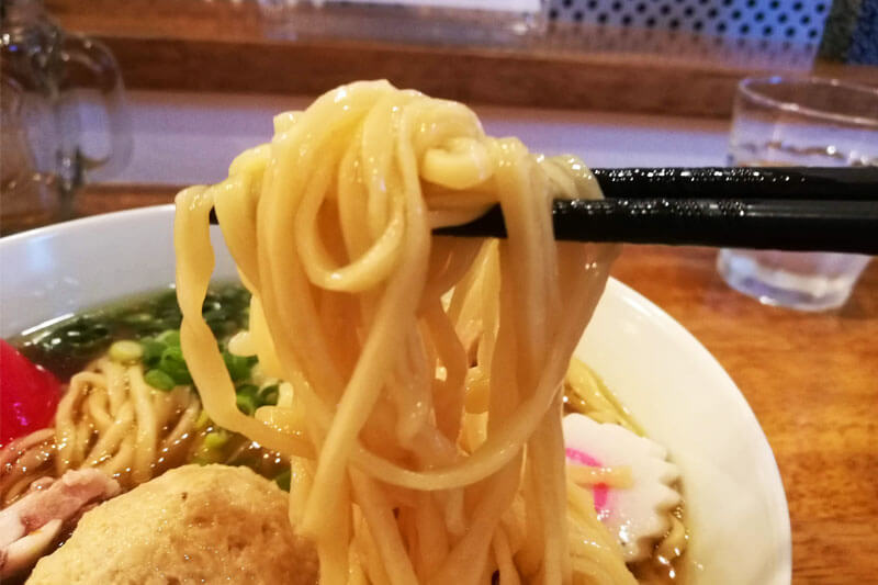 浦和 味六屋 麺