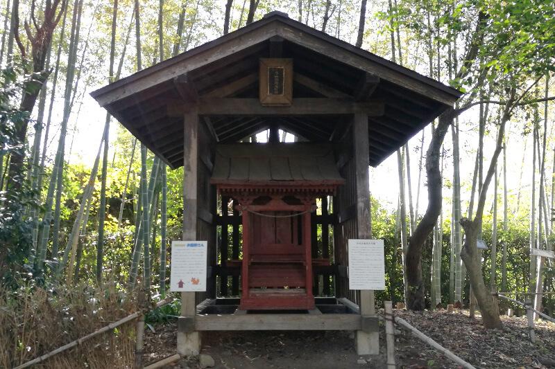 浦和くらしの博物館民家園 旧丸山稲荷社本殿