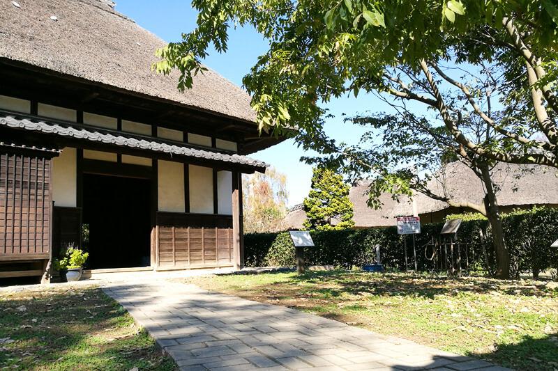 浦和くらしの博物館民家園 旧野口家