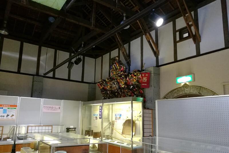 浦和くらしの博物館民家園 旧浦和市農業協同組合三室支所倉庫(国登録有形文化財建造物)  内部