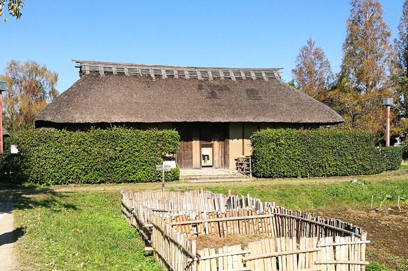 浦和くらしの博物館民家園 旧武笠家表門