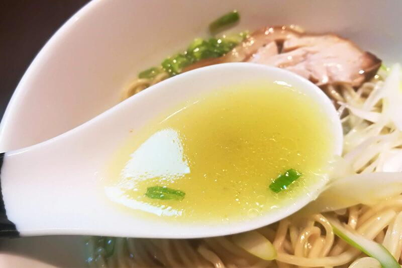 北浦和 柳麺 呉田(goden) 塩スープ