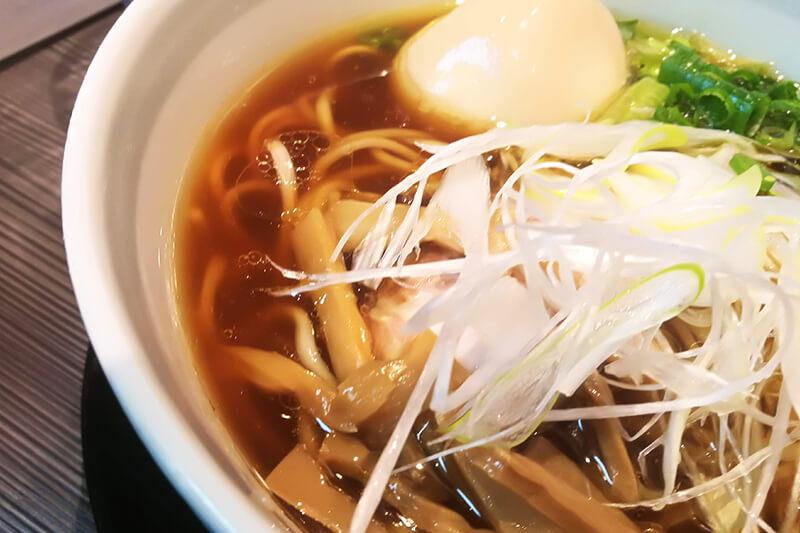 北浦和 柳麺 呉田(goden) 醤油スープ