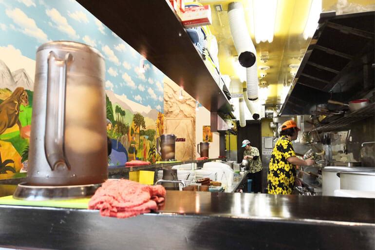 武蔵浦和 麺匠 むさし坊 店内