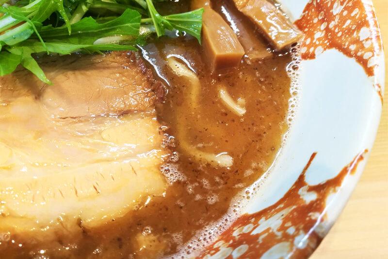中浦和 麺処つむじ スープ