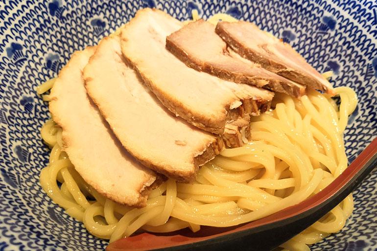 金魚 チャーシューつけ蕎麦