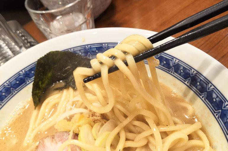 南浦和 麺処 はら田 麺