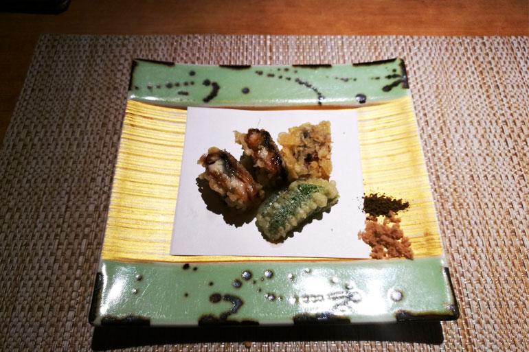 魚菜 基 穴子の天ぷら