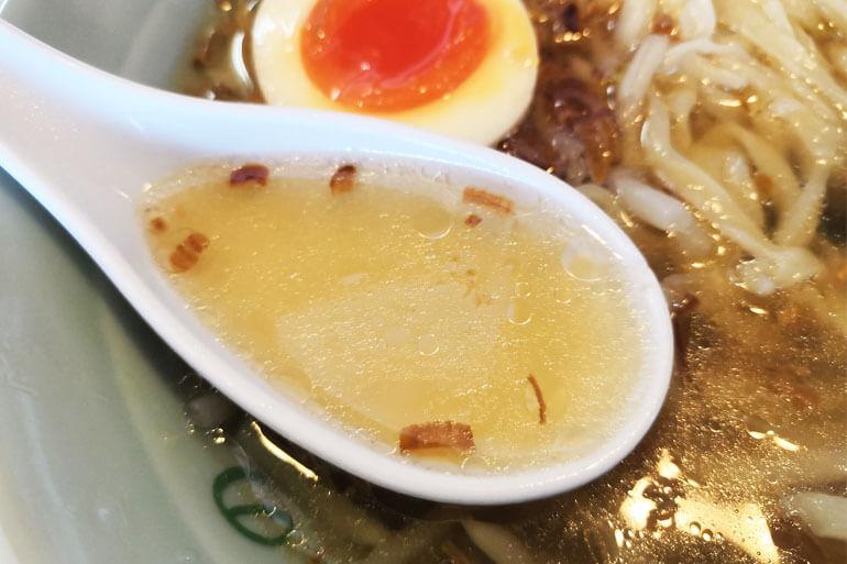 浦和 佐野ラーメンの店たかの スープ