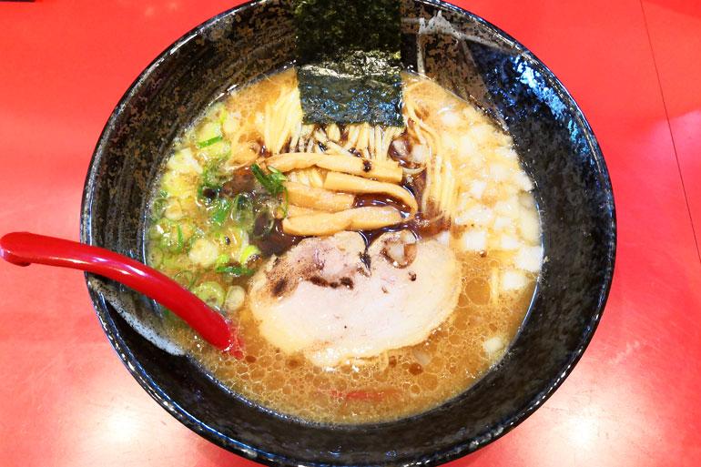 東浦和 麺屋だいのじ 濃厚醤油ラーメン