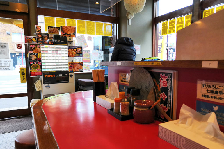東浦和 麺屋だいのじ 店内
