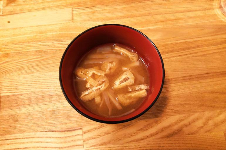 北浦和 大衆すし酒場 じんべえ太郎 味噌汁