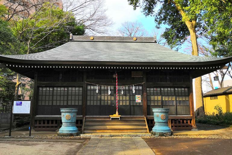 大谷場氷川神社 拝殿