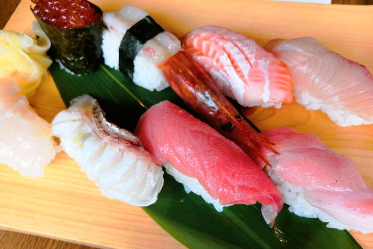 浦和アトレ築地魚力 お寿司