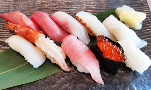 本マグロたっぷり市場寿司