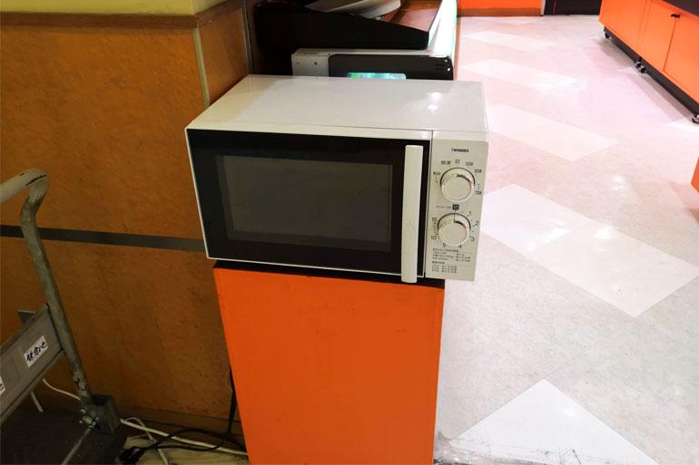 浦和コルソ地下いい菜&ゼストは電子レンジ使えます