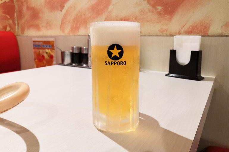 浦和 熟成和牛焼肉「丸喜」 生ビール
