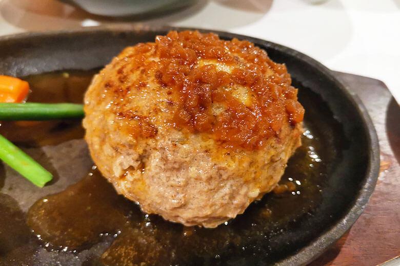 熟成和牛ハンバーグ定食