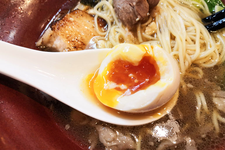 北浦和 麺家 Shumen Doushi(しゅめんどうし)味付け玉子