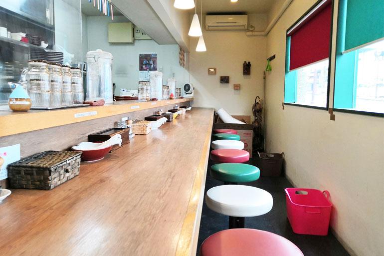 北浦和 麺家 Shumen Doushi(しゅめんどうし)店内