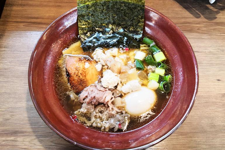 麺家 Shumen Doushi 正油SOBA