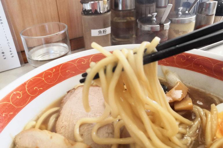 浦和 大勝軒 麺