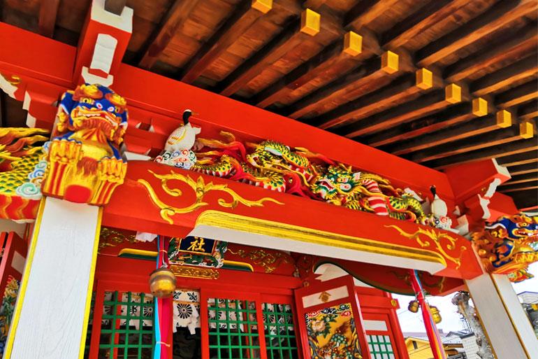 田島御嶽神社 拝殿