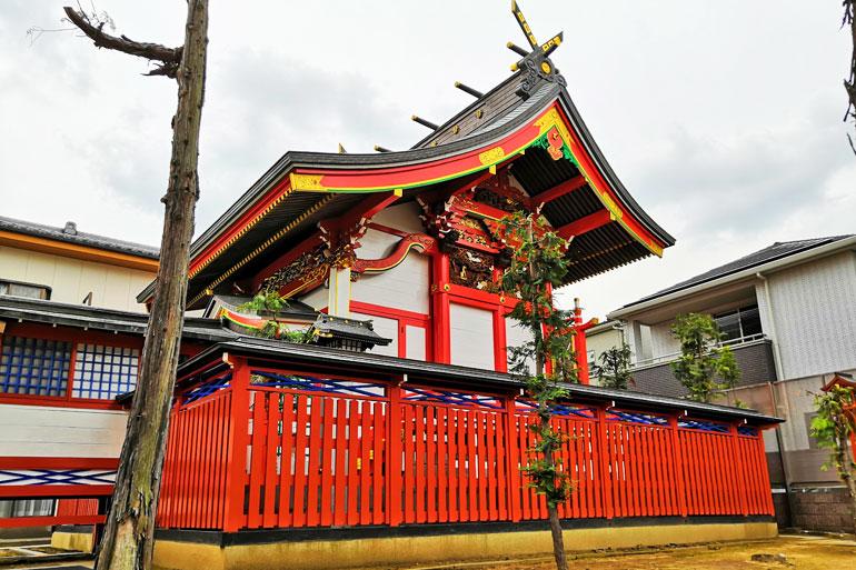 田島御嶽神社 本殿